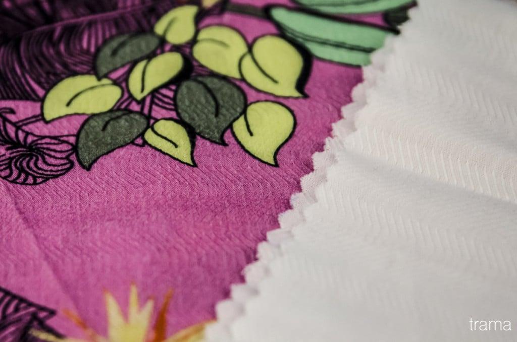 100% algodão maquinetado